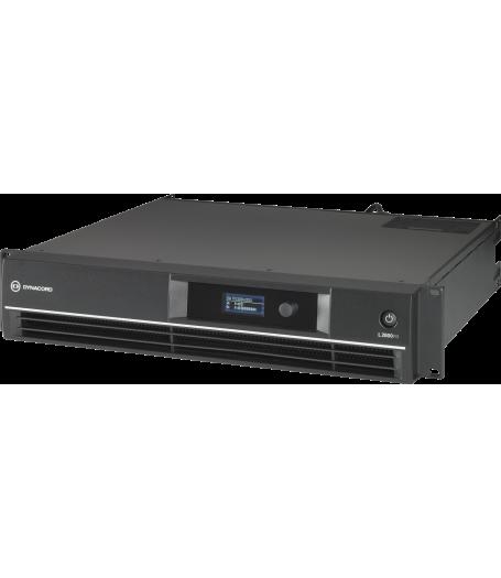 L2800FD DSP POWER AMPLIFIER 2X1400W