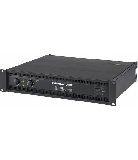 SL 2400 2 X 1200 W POWER AMPLIFIER